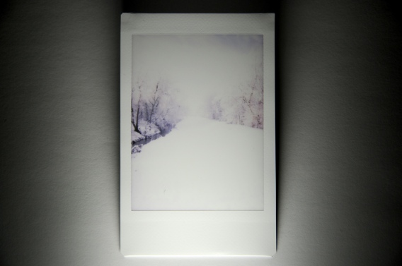 Overexposed snow from Instax Mini 7s